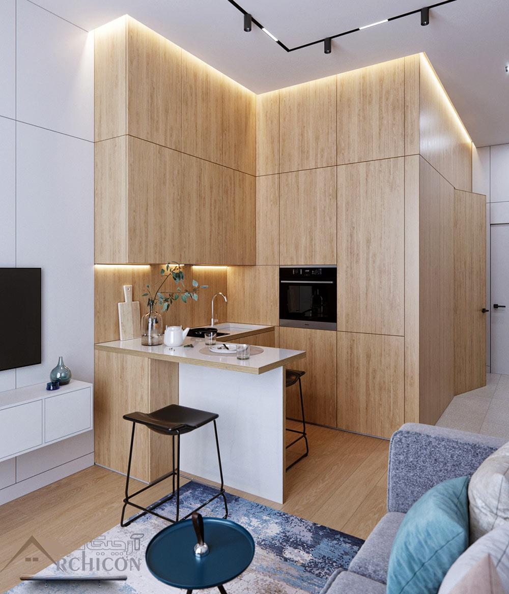 40 Small Kitchen Design Ideas: دکوراسیون آشپزخانه کوچک ، 40 مدل جدید و دیدنی