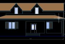 دانلود نقشه ساختمان رایگان مسکونی دو طبقه ویلایی [ نقشه ساختمان دو طبقه ]