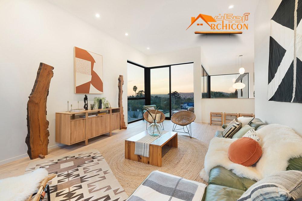 طراحی داخلی خانه ویلایی دوبلکس