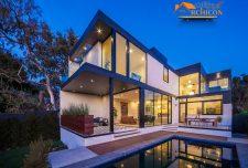 طراحی دکوراسیون خانه ویلایی دوبلکس در لس آنجلس کالیفرنیا
