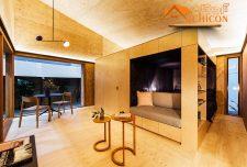 ایده معماری خانه کوچک مدرن