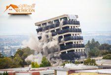 انواع روش های تخریب ساختمان