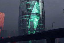طرح معماری برج