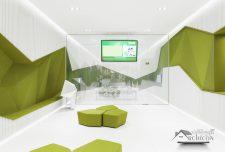 ایده معماری بازسازی شعبه بانک