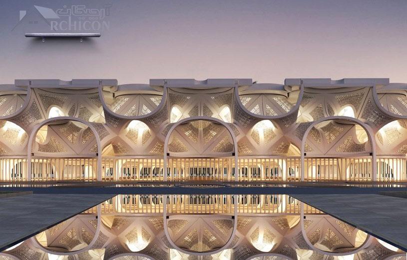 طراحی معماری مسجد
