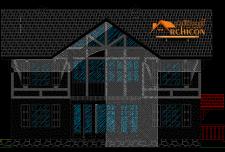 ایده ساختمان ویلایی دو طبقه