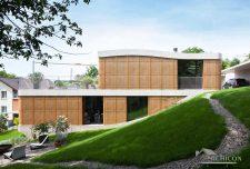 ساختمان باغ ویلا