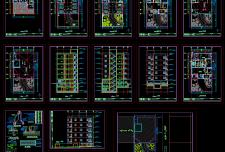 نقشه معماری آپارتمان