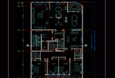 نقشه اتوکد معماری