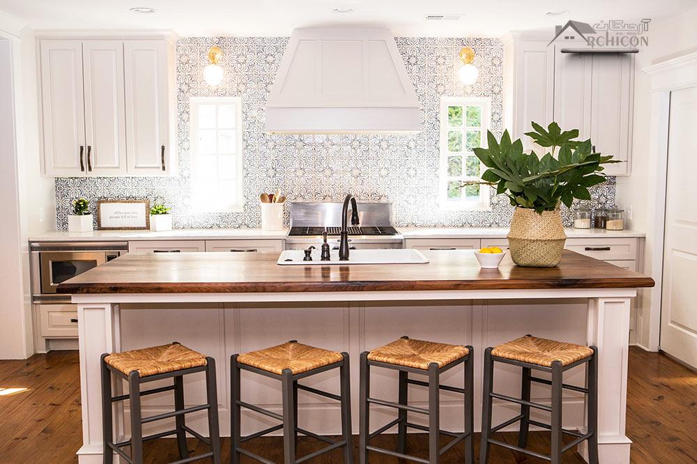 دکوراسیون داخلی آشپزخانه ، 11 ایده جذاب برای سال جدید ...