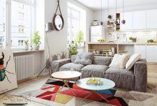 دکوراسیون داخلی منزل ، ۳۳ طرح جالب اسکاندیناوی