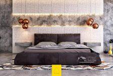 پوشش دیوار اتاق خواب در طراحی داخلی
