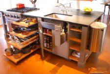 آشپزخانه کوچک و ایده استفاده حداکثر از فضا