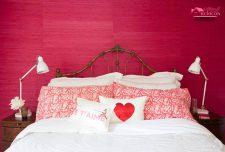 دکوراسیون اتاق خواب رمانتیک ، طراحی شیک [ ۴ رنگ عاشقانه ]