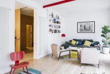 ایده فضایی شگفت انگیز در دکوراسیون داخلی خانه با رنگهای متنوع