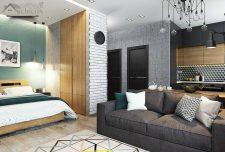 دکوراسیون داخلی آپارتمان ۴۰ متری ایده خاص و هوشمندانه