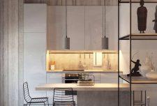 دکوراسیون داخلی آپارتمان کوچک و مدرن با چیدمانی بی نظیر در فضای کوچک