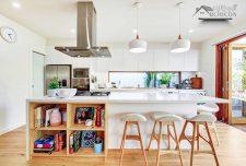 طرح جزیره آشپزخانه