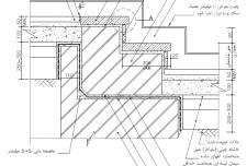 نقشه پله با پوشش سنگ