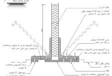 درز انبساط در دیوار و سقف