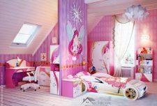 ۱۰۷ ایده جذاب دکوراسیون اتاق خواب دخترانه شیک با رنگ بندی متنوع