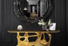 ۲۵ مدل میز کنسول مدرن جدید و خاص برای دکوراسیون داخلی منزل