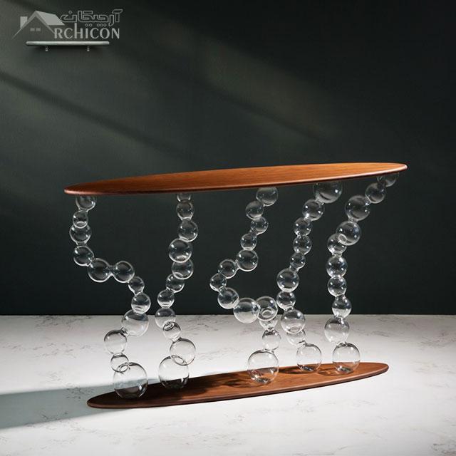 مدل میز کنسول مدرن جدید
