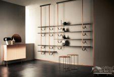 ۲۵ مدل قفسه کتاب جدید لوکس با مواد و رنگ بندی خاص
