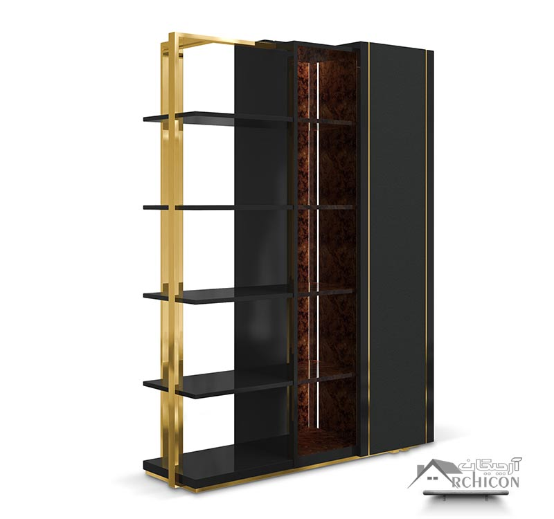 مدل قفسه کتاب جدید