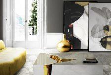 ۲۵ نوع از جدیدترین میز جلو مبلی مدرن فوق العاده شیک و متنوع