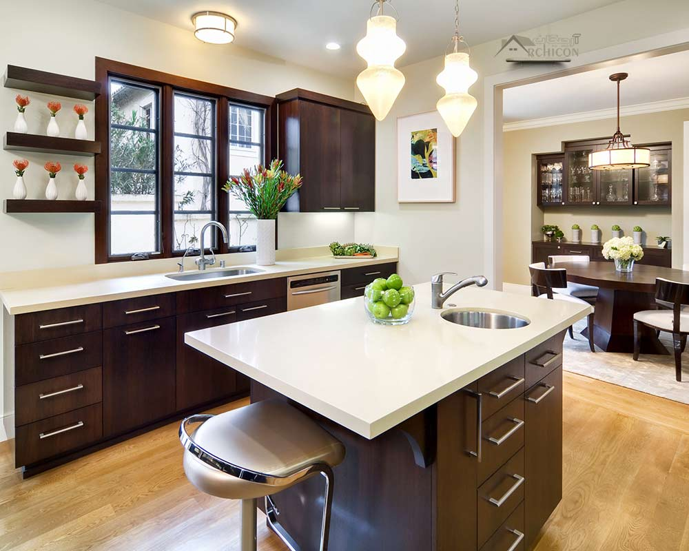 دکوراسیون آشپزخانه کوچک منزل