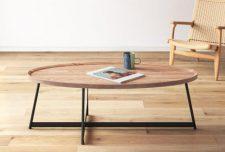 مدل میز جلو مبلی بیضی